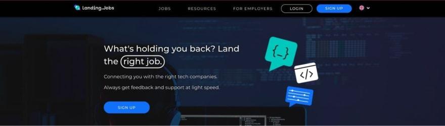 Landing.Jobs website