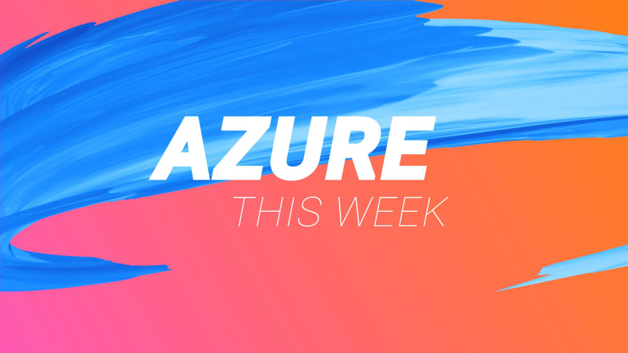 Azure this week image