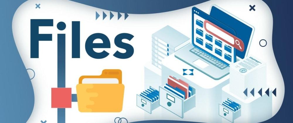 Cover image for Node.js Files app