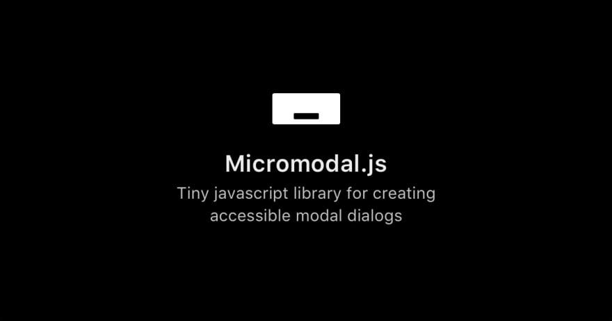 Micromodal.js