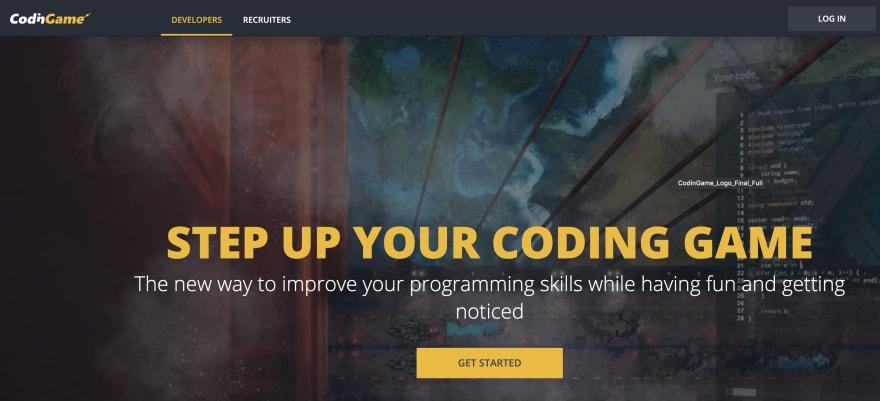 CodingGame javascript gaming