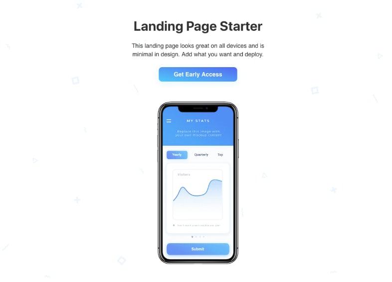 gatsby-starter-landing-page