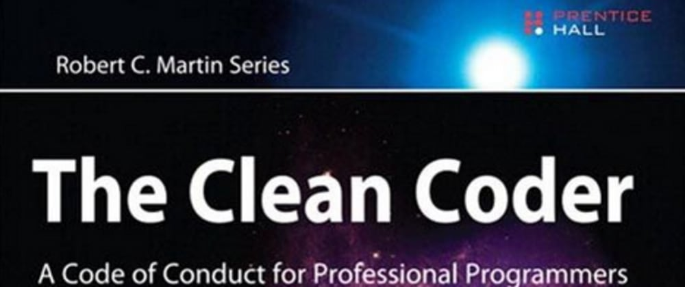 Cover image for #1 Professionalism - Tips from The Clean Coder