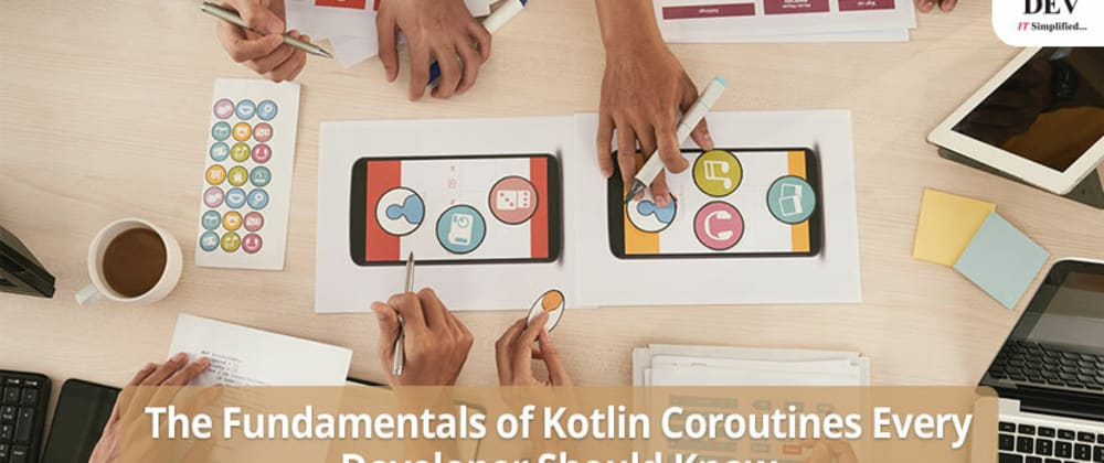 Cover image for Fundamentals of Kotlin Coroutines