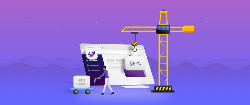 Cover image for 10 Steps to Replace REST Services with gRPC-Web in Blazor WebAssembly