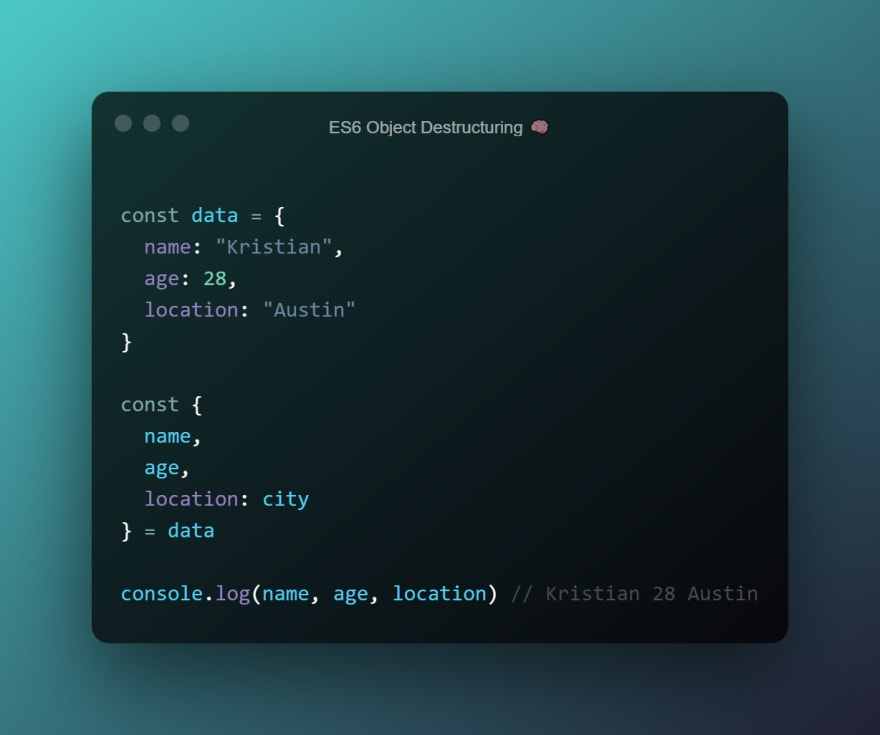 Three ES6 JavaScript tricks you should know