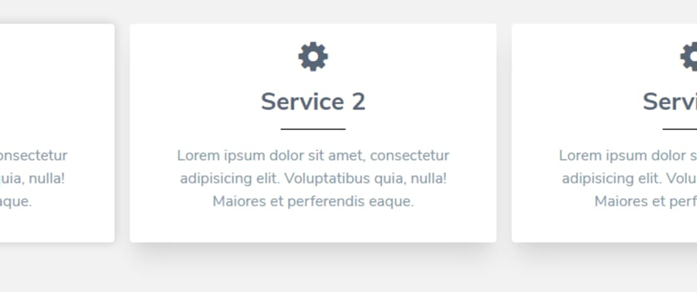 Cover image for Responsive Service Section In Tailwind CSS