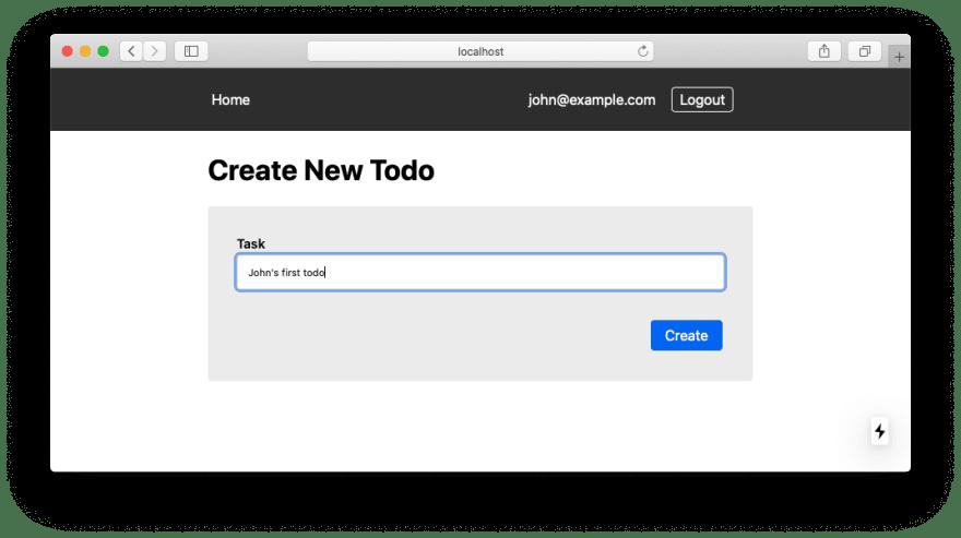 Create a Todo