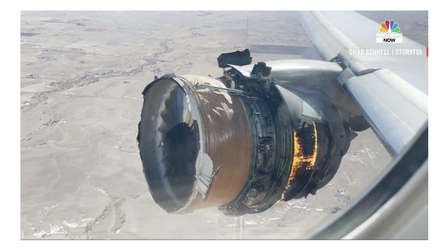 Airplane engine failure