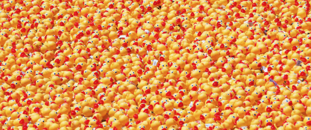 Cover image for How to add a three-dimensional pink rubber duck to your website with react-three-fiber