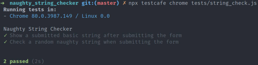 Test Your Form Inputs With Naughty Strings