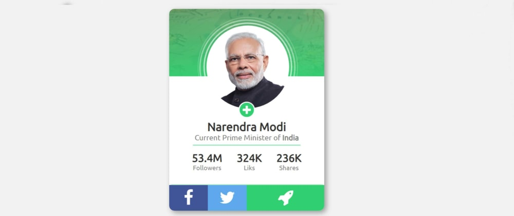 Cover image for Create a Simple Profile Card Design Using HTML & CSS