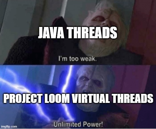 Under high load, we will see the true power of Loom.