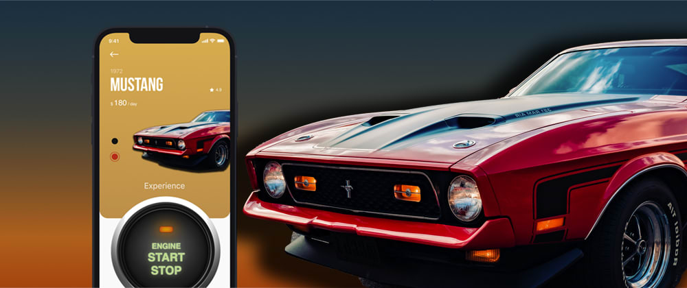 Cover image for Creating a Classic Car Rental App with Engine Sound Demo