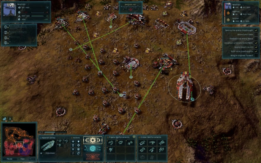 Ashes of the Singularity played over Steam Remote Play