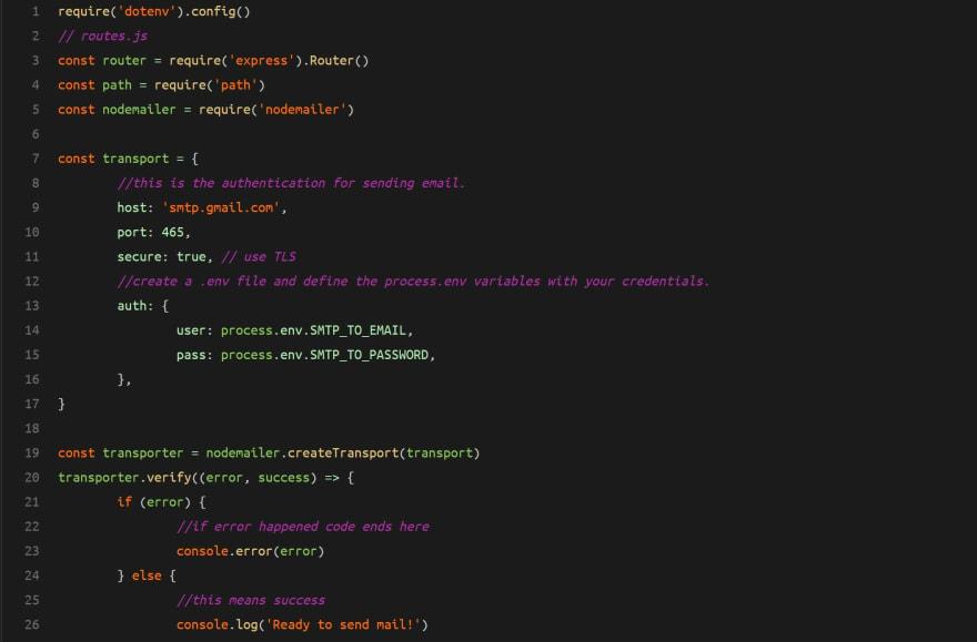 Screenshot of the source code on GitHub