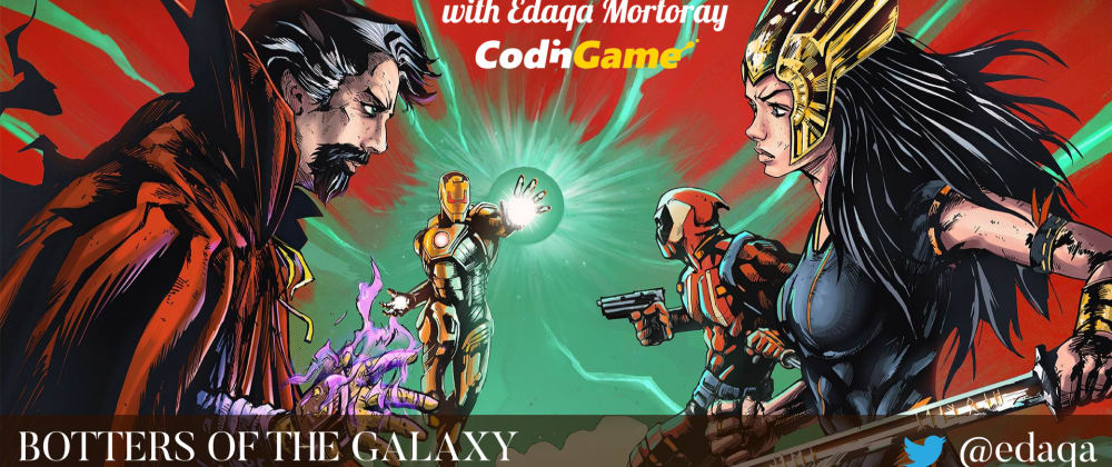 Cover image for Botters of the Galaxy - Complete Stream Collection