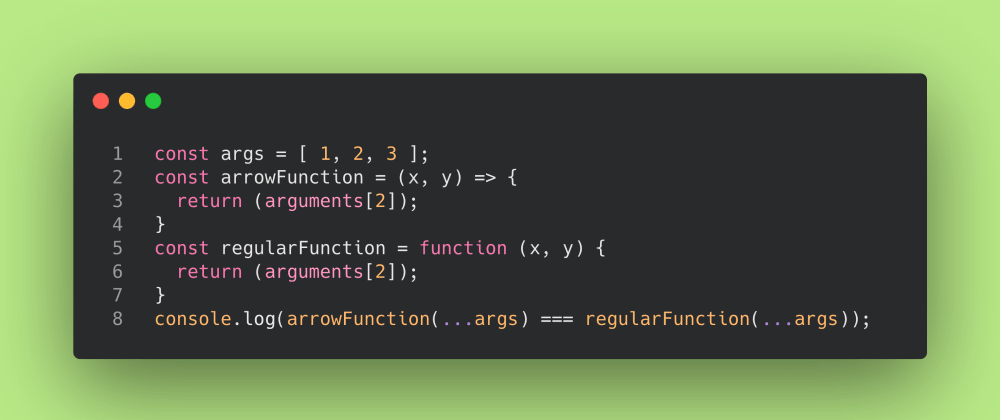 Cover image for JS Test #6: Variable number of arguments