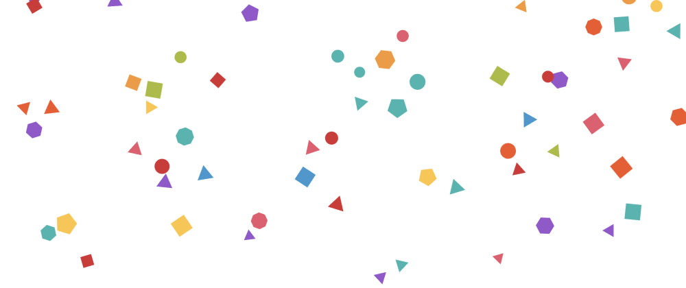 Cover image for #codevember - 13 - Polygons - Made with tsParticles