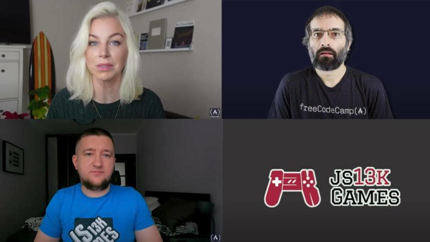 Enclave Games - js13kGames 2020 videos: FreeCodeCamp