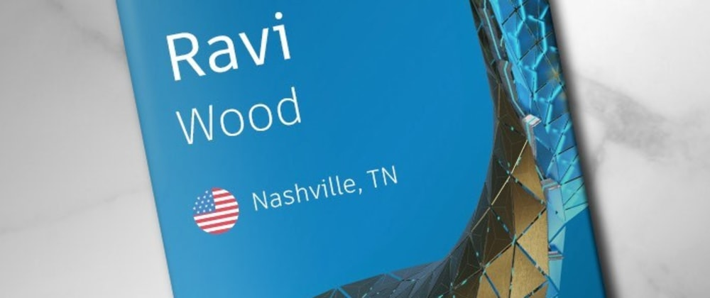 Cover image for Ravi Wood AU2020!!