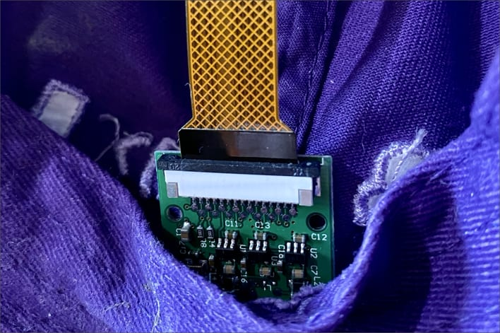 The camera module in the hat