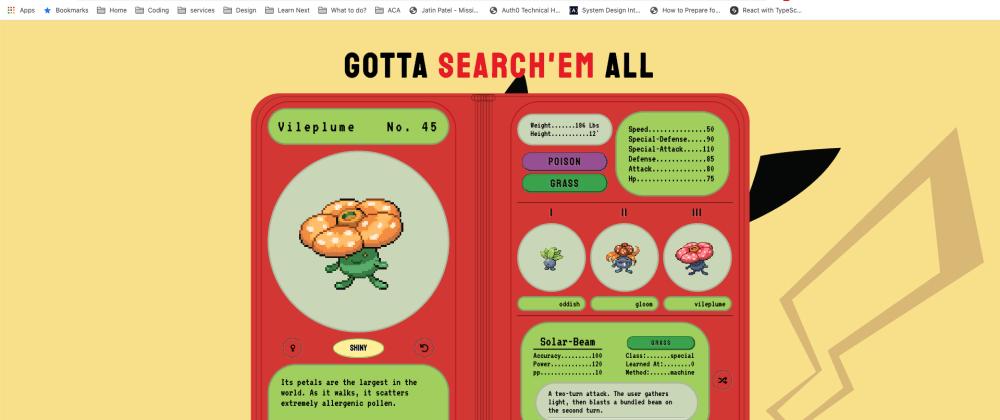 Cover image for Pokedex: Gotta Search'em All