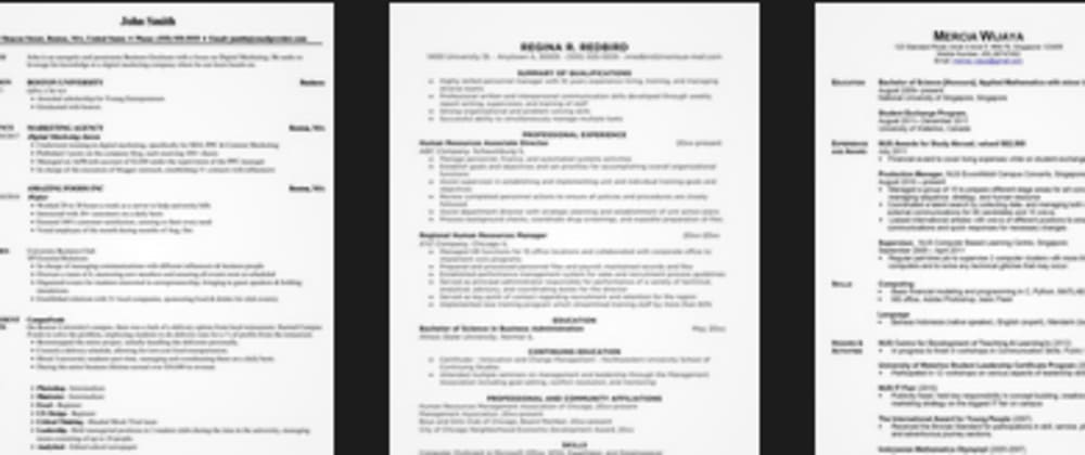 Cover image for Top 3 Things to Drop From Resumes - Discuss Additional!