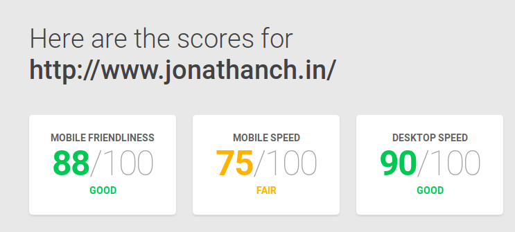 new speed test
