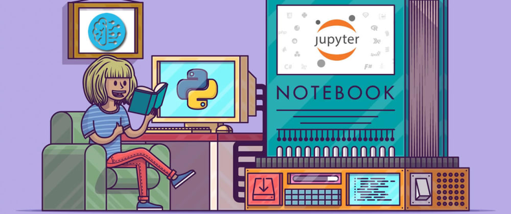 Cover image for Learn Python with Jupyter Notebook from Scratch