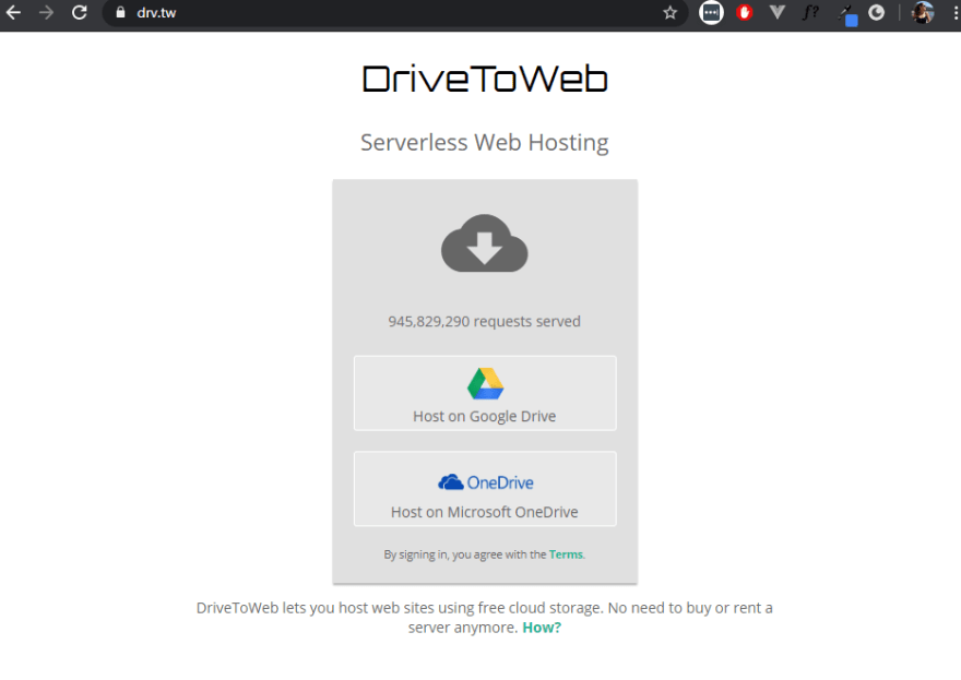 DriveToWeb
