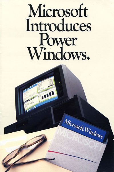 Windows 1.0 Advertisement
