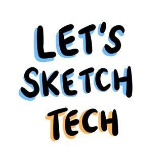 Let's Sketch Tech! logo