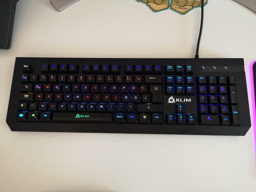 KLIM domination keyboard