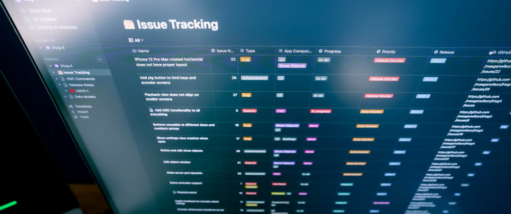 Cover image for How to use Notion as an Issue Tracker