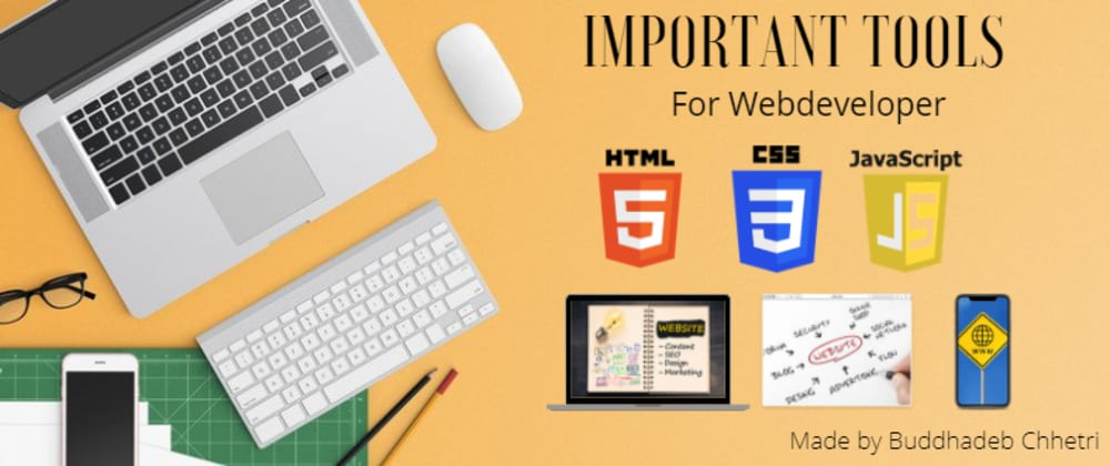 Cover image for Important Tools For WebDeveloper