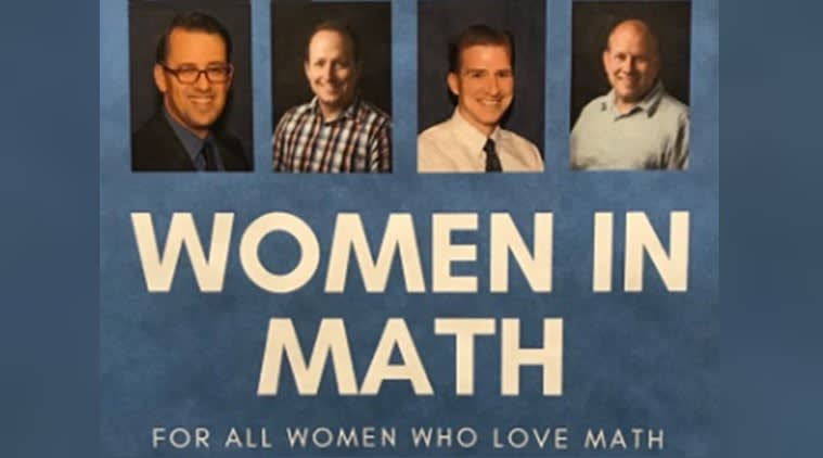 all male panel on the topic of women in math