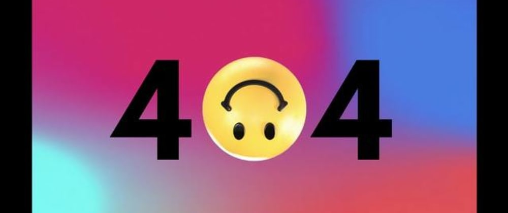 Cover image for Thanking the 404