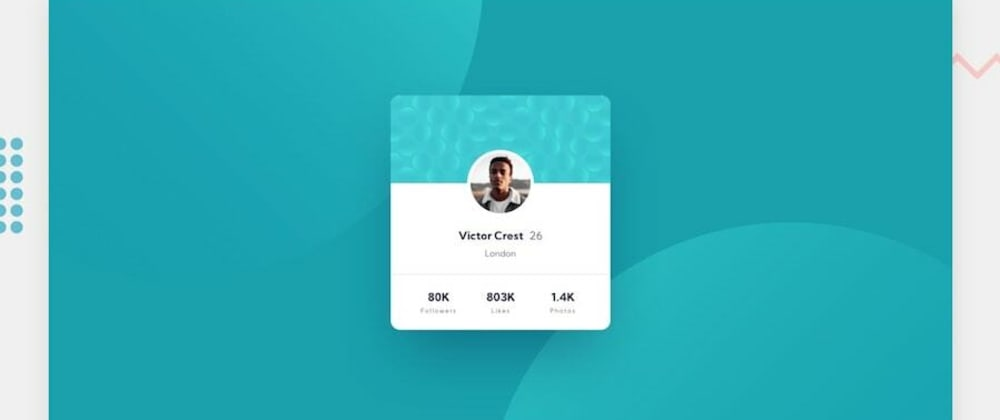 Cover image for Profile Card challenge - frontendmentor.io