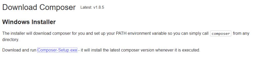 composer download