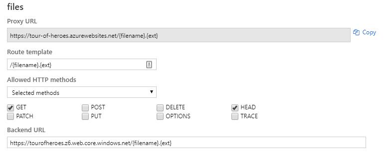 files proxy