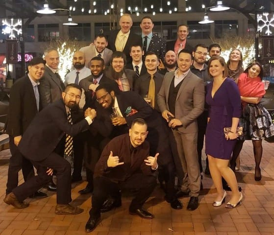 A portion of our team at the annual DealerOn Holiday Party 2018.