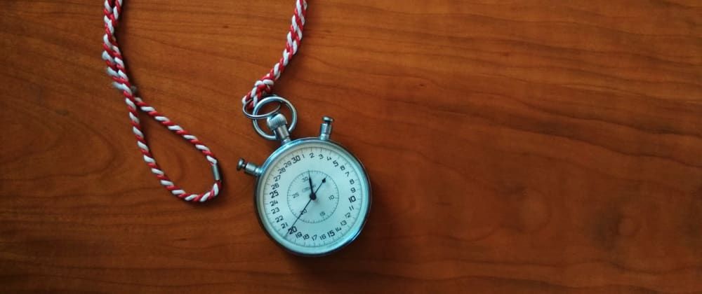 Cover image for Creating a timer with JavaScript