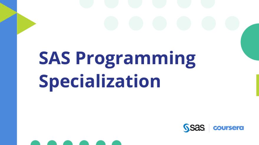 best SAS professional certificate in Coursera