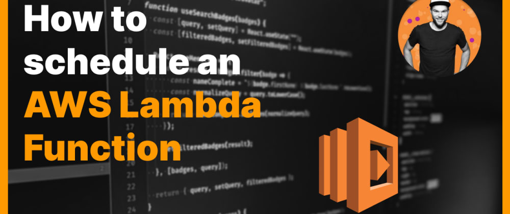 Cover image for How to schedule an AWS Lambda function