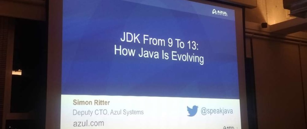 Cover image for How Java is Evolving with Simon Ritter-JDK 9 to13