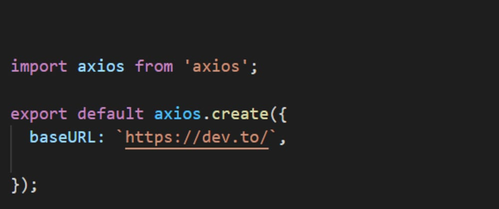 Cover image for Use Axios with React