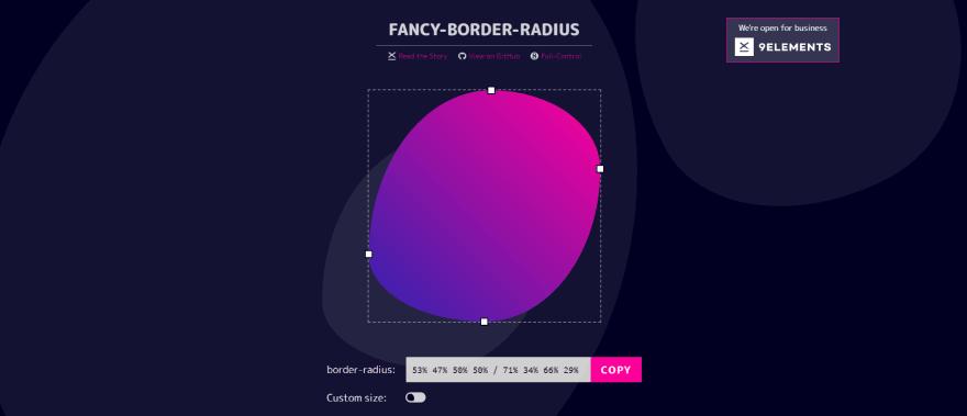 FANCY-BORDER-RADIUS