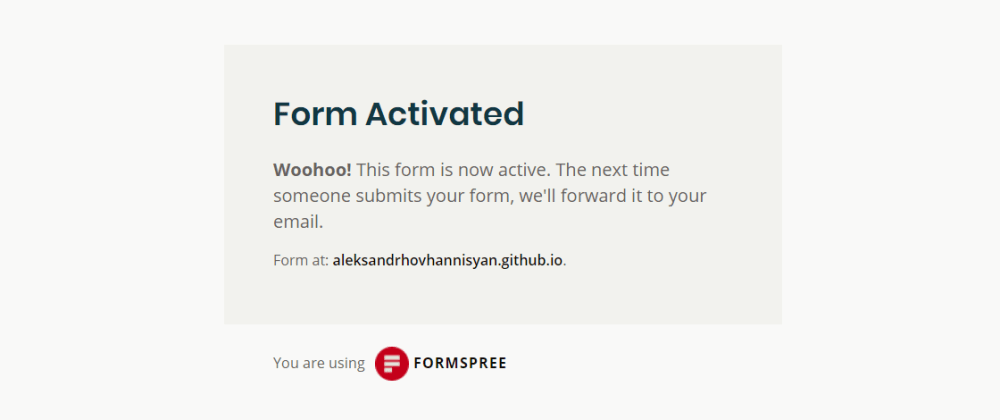 Cover image for Add a Free Contact Form to Your Website with Formspree