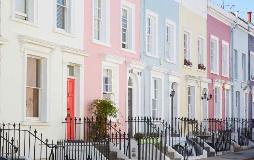 UK terraced houses